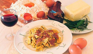 Ravioli al Plin with truffle